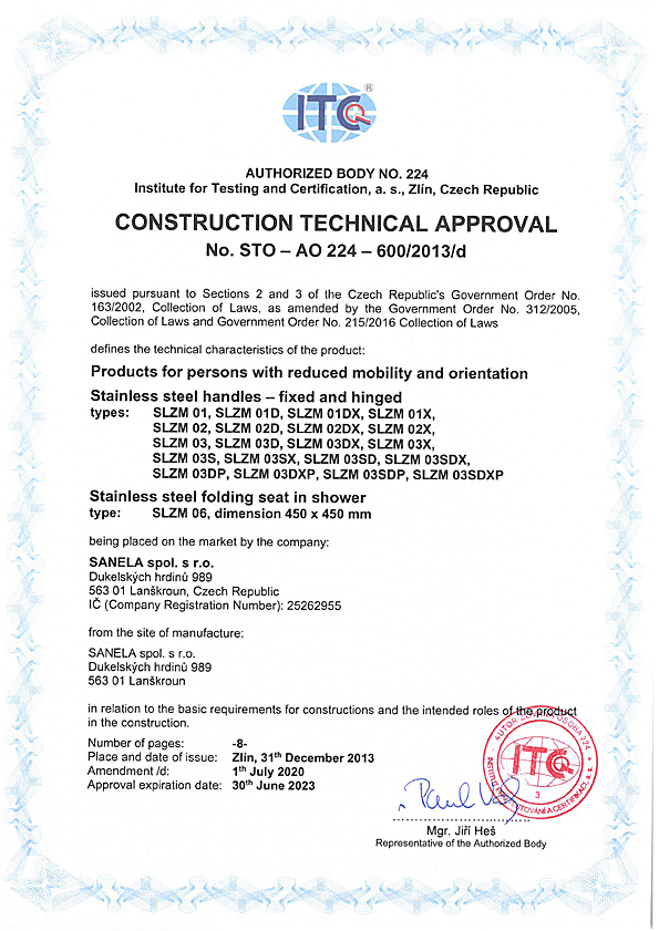 Construction technical approval