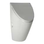 Urinal Arq with cover, with a radar flushing unit and integrated power supply, 230 V AC