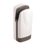 Automatic wall mounted hand dryer, white cover