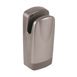 Automatic wall mounted hand dryer, grey cover