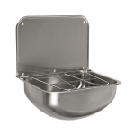 Stainless steel wall hung sink