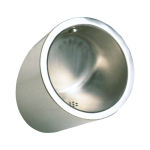 Vandal-proof stainless steel urinal
