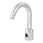 Washbasin tap for cold and hot water, 24 V DC