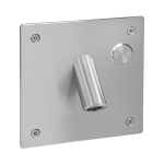 Wall-mounted tap for cold or premixed water with a vandal-proof cover, 6 V