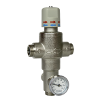 "Thermostatic mixing valve 3/4"" (43l/min.)"