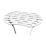 Stainless steel sieve for urinal Nova