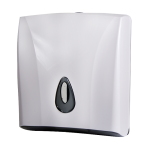 Supply bin for paper towels, material white plastic ABS