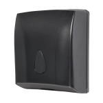 Supply bin for paper towels, material black plastic ABS