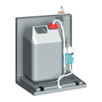 Automatic Wall-mounted Liquid and Gel Disinfection Dispenser, 24 V DC