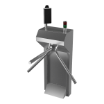 Turnstile with stand and thermo-visual camera, 230V AC