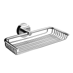 Stainless steel soap holder, polished finish