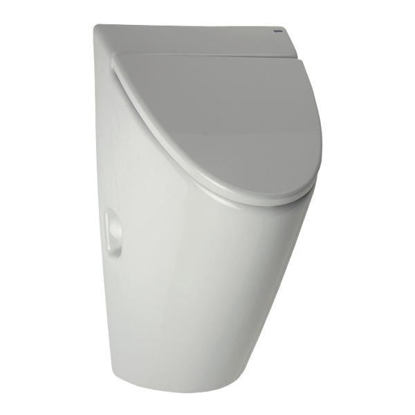 Urinal Arq with cover and with a radar flushing unit, 24 V DC