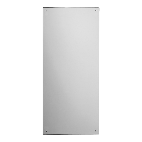 Stainless steel mirror 900 x 400 mm