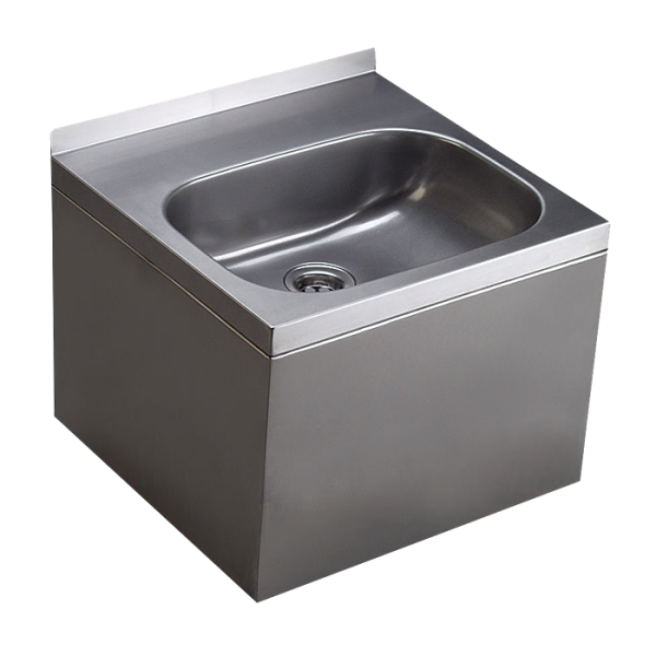 Stainless steel wall hung washbasin