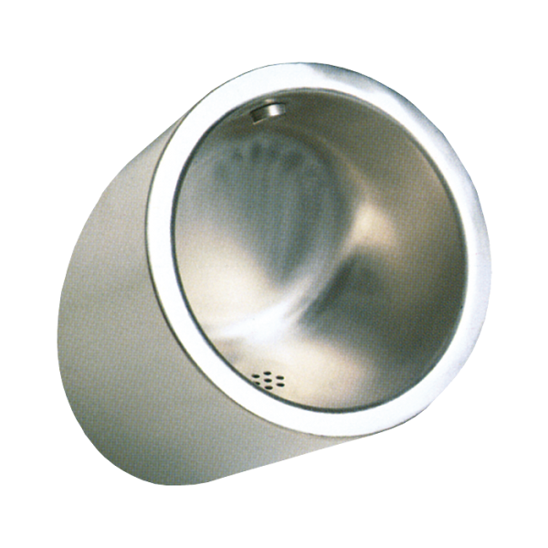 Vandal proof stainless steel urinal
