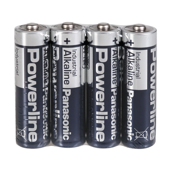 Set of 4 pcs. of alcaline batteries