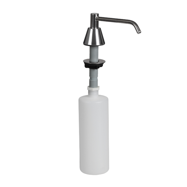 Recessed liquid soap dispenser, volume 0,6 l, polished