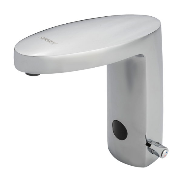 Automatic washbasin mixer, 6 V