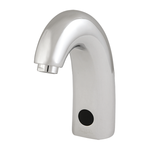 Washbasin tap for cold or premixed water, 24 V DC
